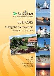 Gastgeberverzeichnis Salzgitter + Umgebung - Stadt Salzgitter