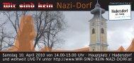 Nazi-Dorf - GEDENKSTäTTE Hadersdorf am Kamp