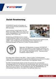 Rundschreiben Soziale Verantwortung - Sport-Goslar