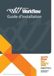Guide d'installation de Nintex Workflow 2010