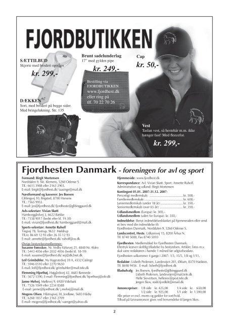 nr. 186 - Fjordhesten Danmark