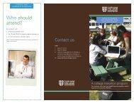 Quickstart Brochure - Durham College
