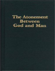 The Atonement Between God and Man - AGS Consulting