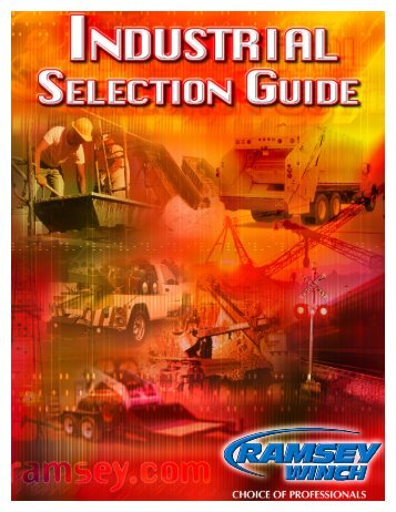 Industrial Winch Selection Guide
