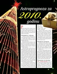 Astroloski pogled na novu 2010. godinu - Magazin