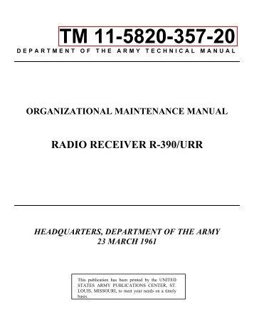 TM 11-5820-357-20 - VMARSmanuals