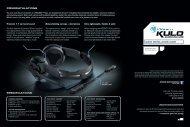 quick installation guide congratulations specifications - Roccat