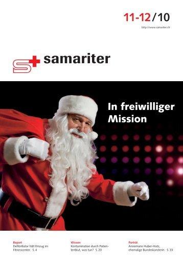 11-12 / 10 - Der Schweizerische Samariterbund