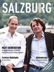 Ausgabe 5 - September - Salzburg Inside - Das Magazin