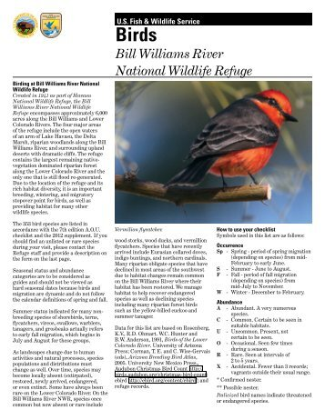 Okanogan county wildlife species list nature mapping for Us fish and wildlife service jobs