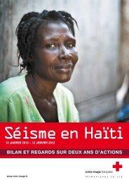 Bilan et regards sur deux ans d'actions - Croix-Rouge française