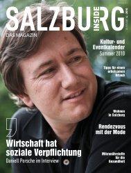 Ausgabe 4 - Mai - Salzburg Inside - Das Magazin