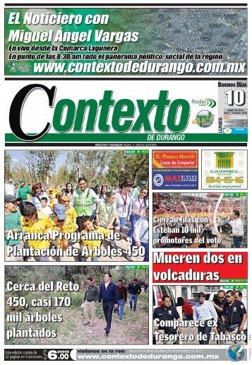 10/06/2013 - Contexto de Durango