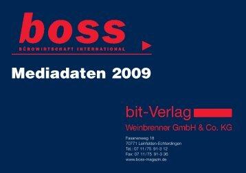 Mediadaten 2009 - im bit-Verlag