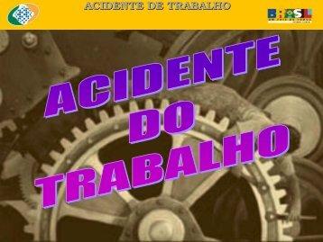 Informações sobre ACIDENTE DE TRABALHO - Sindicato dos ...