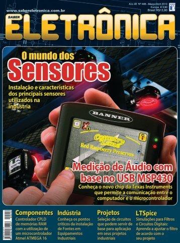 Sensores - Saber Eletrônica