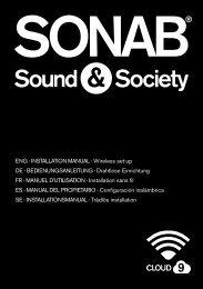 Installation manual 4.2 Mb - Sonab Audio