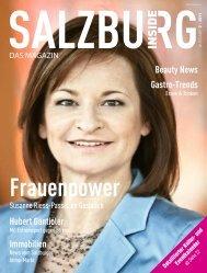 Frauenpower - Salzburg Inside - Das Magazin