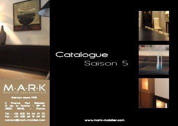 Catalogue Saison 5