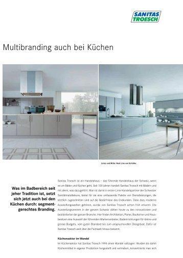 Multibranding auch bei Küchen - Sanitas Troesch AG