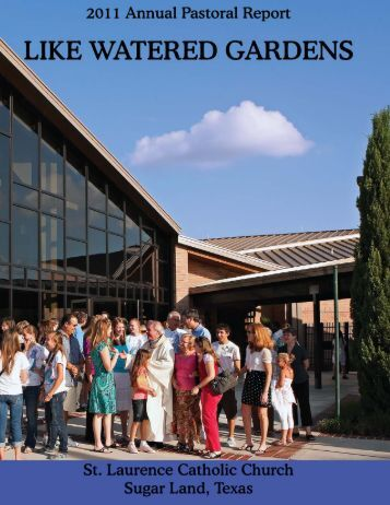 2011 Annual Pastoral Report - St Laurence Catholic Church