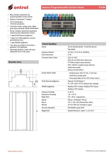 P-ION Katalog