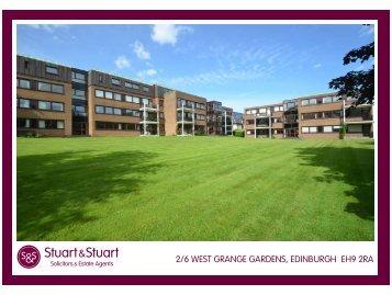 2/6 west grange gardens, edinburgh eh9 2ra - Stuart & Stuart