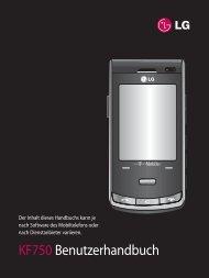 KF750 Benutzerhandbuch - LG Blog