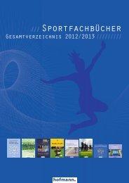 Gesamtverzeichnis 2012 - sportfachbuch.de