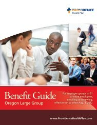 Benefit Guide - Providence Health Plan