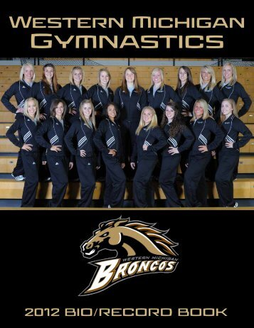 2012 Bio/Record Book - Western Michigan University Athletics ...