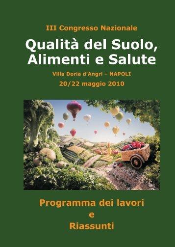 pdf - Qualità del Suolo, Alimenti e Salute