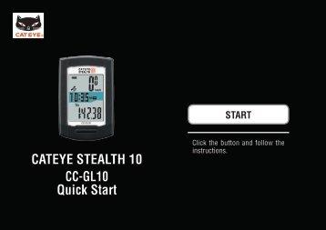 Installing CATEYE Sync