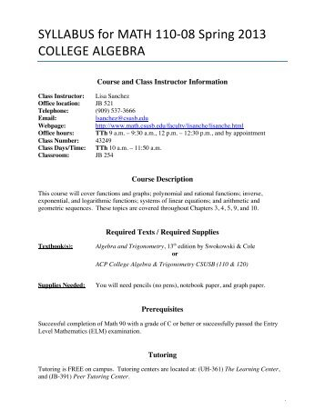 college algebra review Welcome to the algebra 2 go ® prealgebra resources page whether you are attending saddleback college's prealgebra class prealgebra review 3 : read: read.