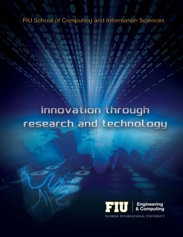 FIU School of Computing and Information Sciences - SCIS Home ...