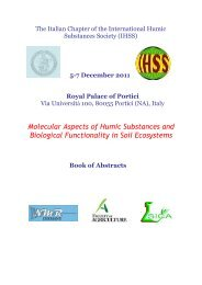 Molecular Aspects of Humic Substances and Biological Functionality ...