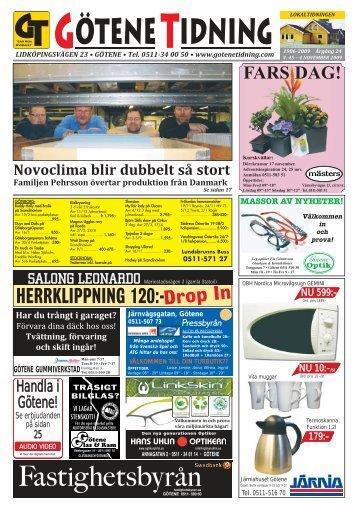 lokaltidningen - Götene Tidning