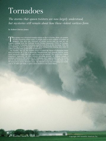 Scientific American - Department of Atmospheric Sciences