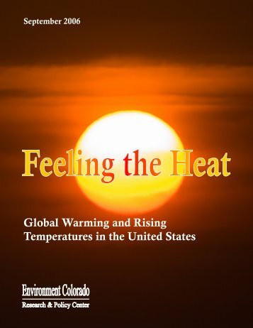 Global Warming and Rising Temperatures in the United States