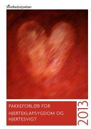 pakkeforløb for hjerteklapsygdom og hjertesvigt - Sundhedsstyrelsen