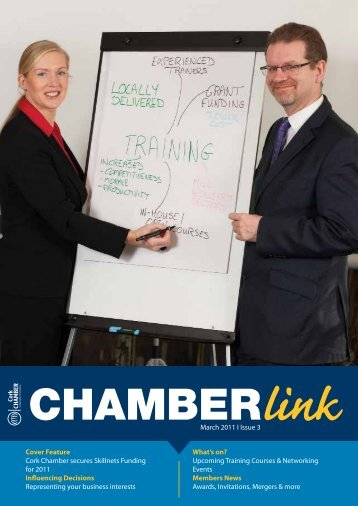 March 2011 I Issue 3 - Cork Chamber of Commerce