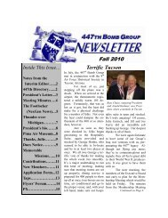 Fall Newsletter.pub - 447th Bomb Group