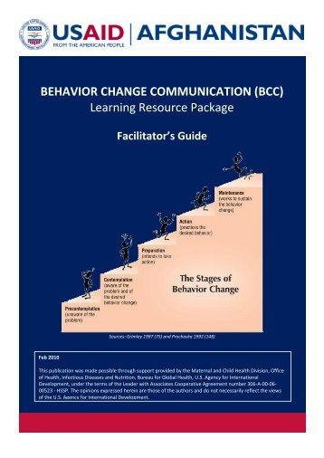 BEHAVIOR CHANGE COMMUNICATION - Ministry of Public Health ...