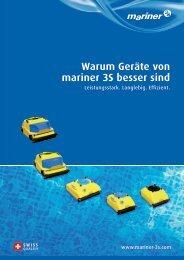 Warum Geräte von mariner 3S besser sind - Mariner 3S AG