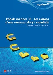 Robots mariner 3S - Les raisons d'une Ã'Â«success story - Mariner 3S AG