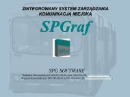 SPG Software