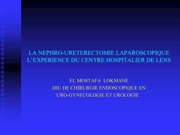 Nephroureterectomie.p+ - Service d'Urologie CHU Henri Mondor