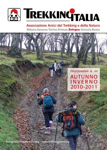 AutuNNO iNveRNO 2010-2011 - Trekking Italia