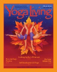 Yoga Living Magazine