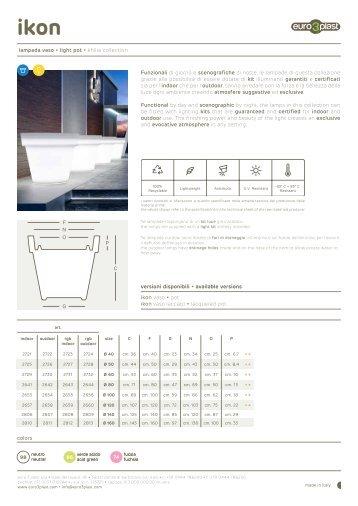 scheda tecnica - Euro 3 Plast